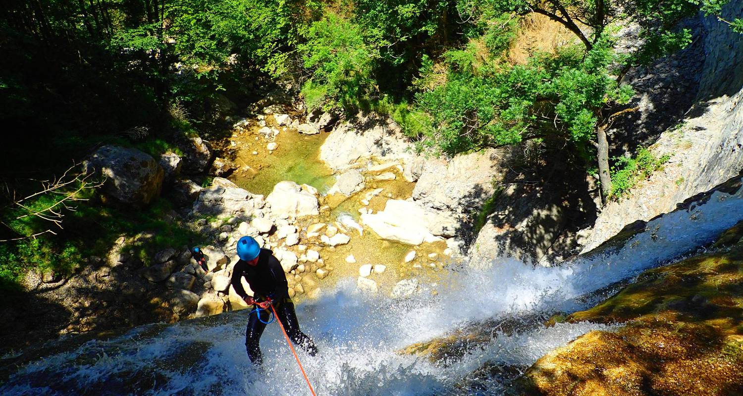 Activity: canyoning sensation of the ecouges 2 in saint-gervais (132344)