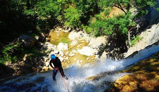 Canyoning sensation of the Ecouges 2