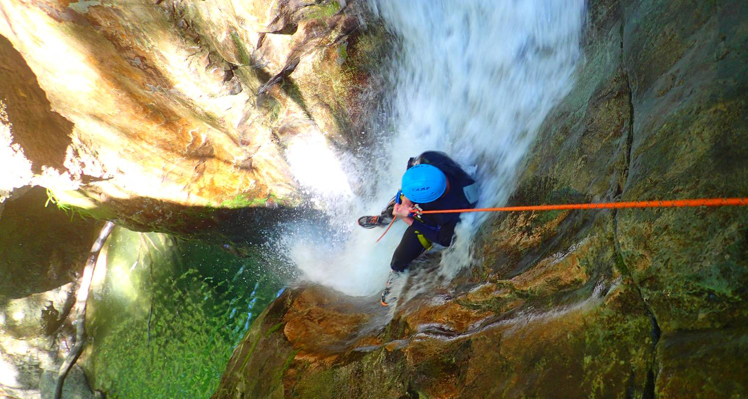 Activity: canyoning sensation of the ecouges 2 in saint-gervais (132346)