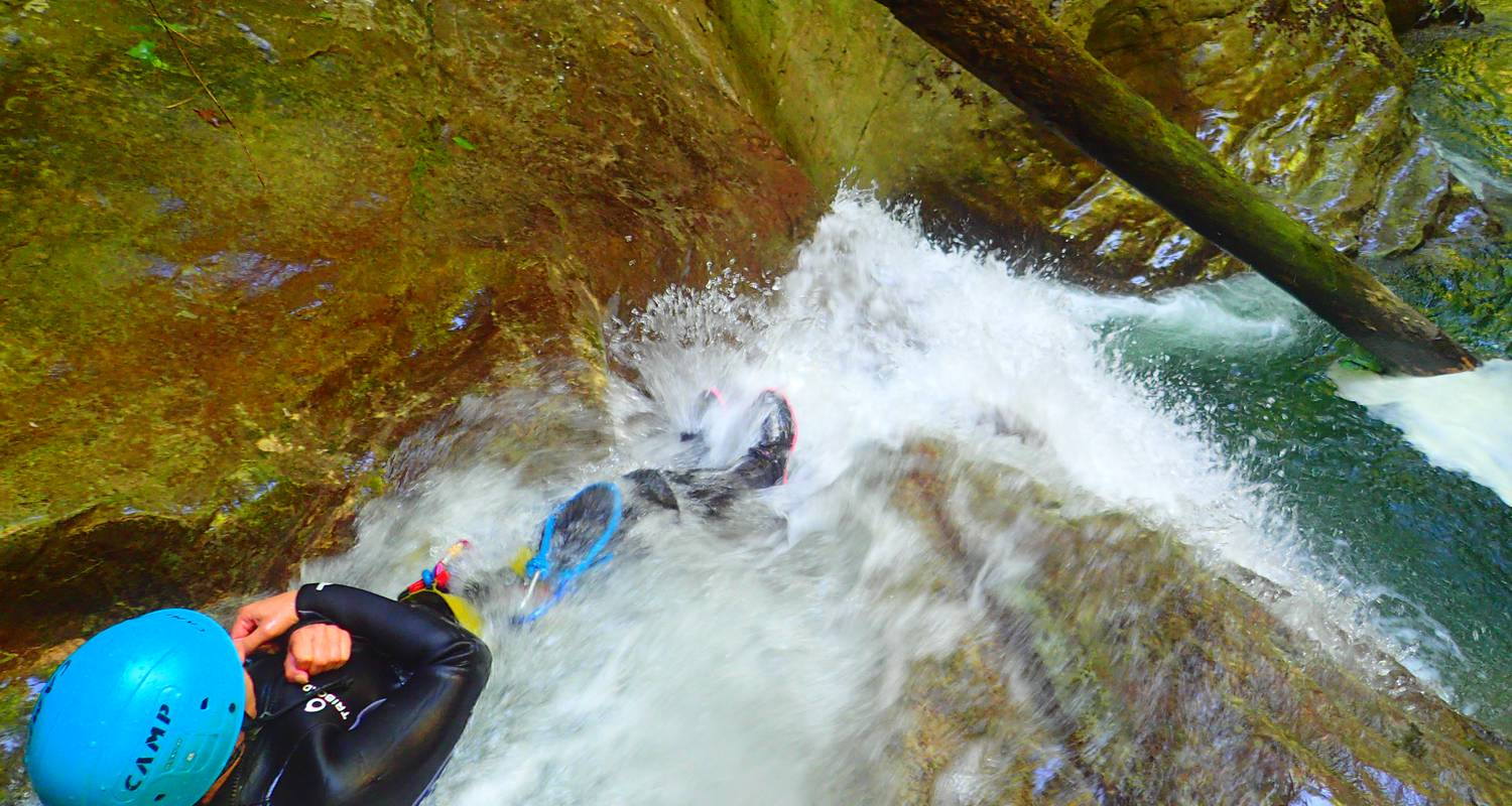 Activity: canyoning sensation of the ecouges 2 in saint-gervais (132345)