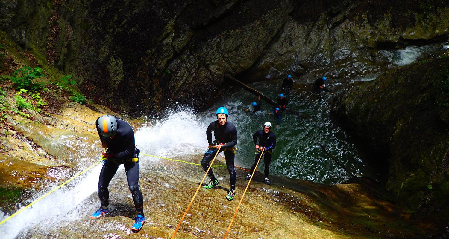 Activity: canyoning sensation of angon in angon (132347)