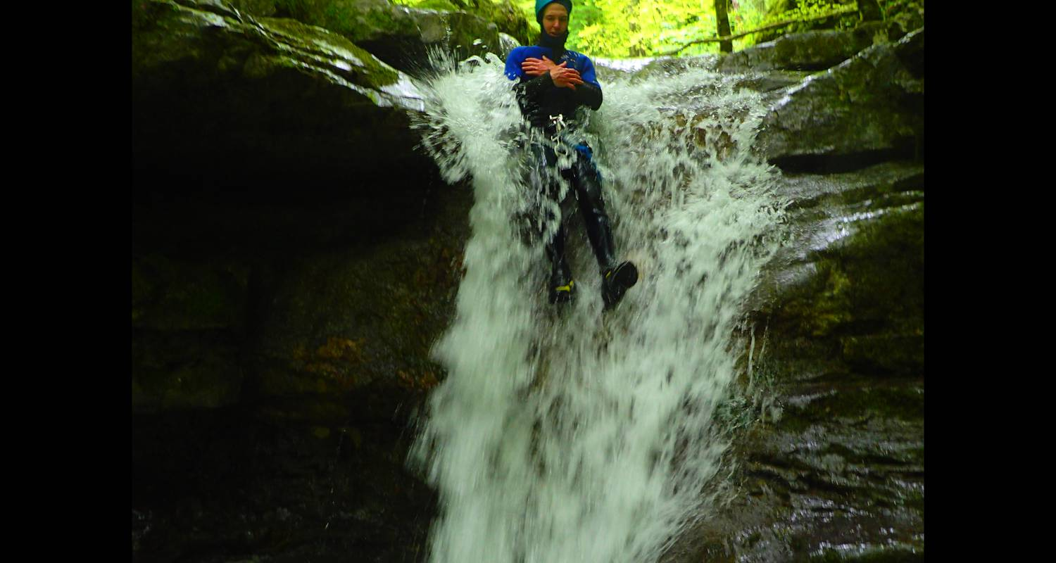 Activity: canyoning sensation of angon in angon (132348)
