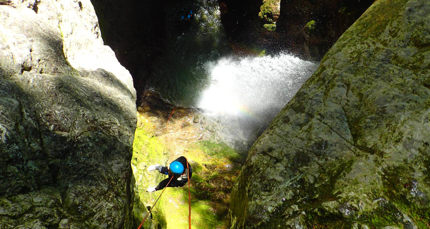 Activity: canyoning sensation of angon in angon (132349)