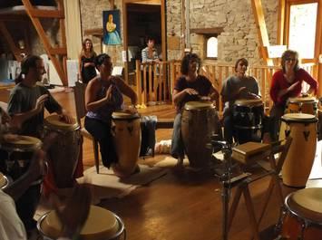 Stage d'été de Danse et Percussions Africaines et Afro-cubaines