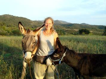 Donkey riding and trekking