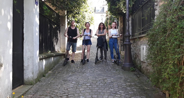 Activité: la campagne à paris  en trottinette électrique à paris (132503)
