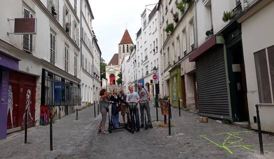 Le vrai Paris et ses incontournables, Est Ouest en trottinette électrique photo