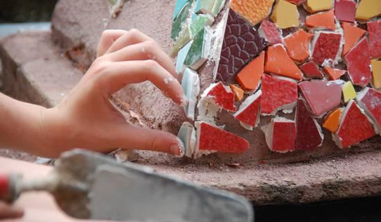Weekend découverte de la mosaïque à la Construction Insolite foto