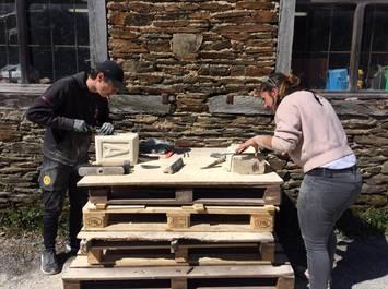Week-End découverte du travail de la pierre à la Construction Insolite