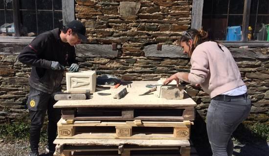 Week-End découverte du travail de la pierre à la Construction Insolite foto
