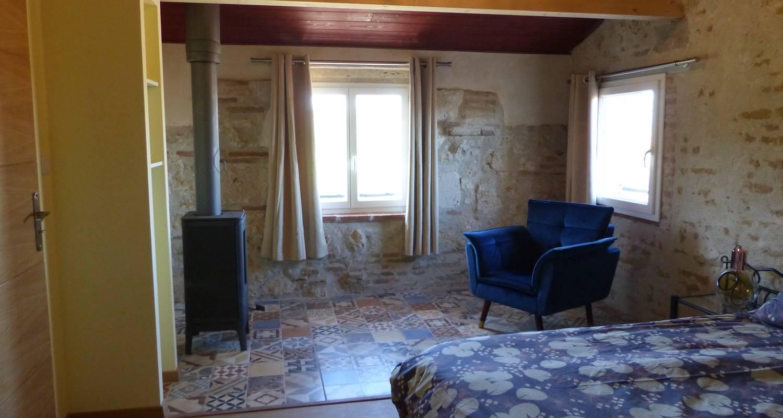 Bed & breakfast: chambres d'hôtes au clair de loup in saint-loup (132614)