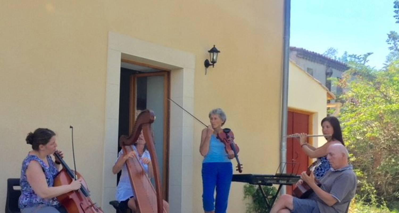 Activité: week-end découverte musicale en saint-julien-de-briola (133450)