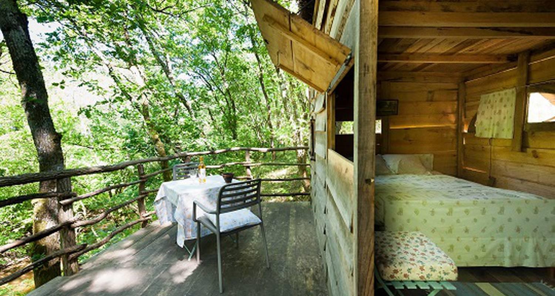 Chambre d'hôtes: landes cabanes sauvages à campet-et-lamolère (133457)