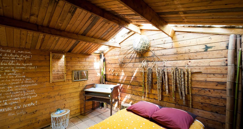 Chambre d'hôtes: landes cabanes sauvages à campet-et-lamolère (133459)